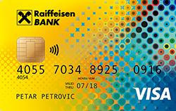 VISA kreditna kartica