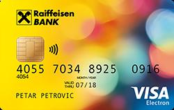 VISA debitna kartica
